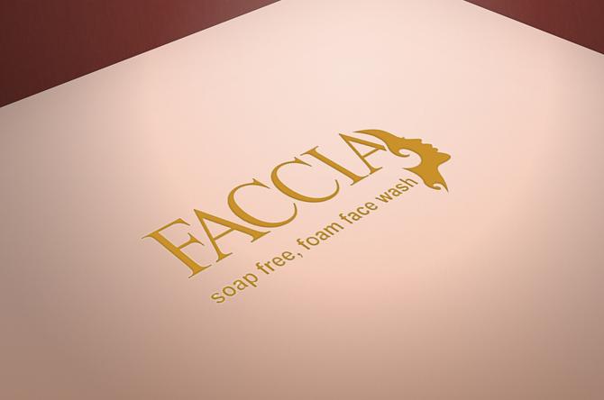 Faccia Face wash Logo